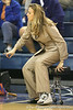 Florida head coach Amanda Butler watches from the sideline during the Gators' 75-39 win against the UAB Blazers on Tuesday, November 24, 2009 at the Stephen C. O'Connell Center in Gainesville, Fla. / photo by Tim Casey