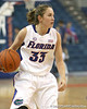Florida redshirt-sophomore Jordan Jones looks to pass during the Gators' 75-39 win against the UAB Blazers on Tuesday, November 24, 2009 at the Stephen C. O'Connell Center in Gainesville, Fla. / photo by Tim Casey