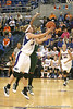 Florida redshirt-senior guard Susan Yenser shoots a layup during the Gators' 75-39 win against the UAB Blazers on Tuesday, November 24, 2009 at the Stephen C. O'Connell Center in Gainesville, Fla. / photo by Tim Casey