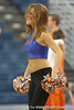 The Dazzlers perform during the Gators' 75-39 win against the UAB Blazers on Tuesday, November 24, 2009 at the Stephen C. O'Connell Center in Gainesville, Fla. / photo by Tim Casey