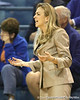 Florida head coach Amanda Butler reacts to a play during the Gators' 75-39 win against the UAB Blazers on Tuesday, November 24, 2009 at the Stephen C. O'Connell Center in Gainesville, Fla. / photo by Tim Casey