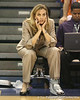 Florida head coach Amanda Butler looks on during the Gators' 75-39 win against the UAB Blazers on Tuesday, November 24, 2009 at the Stephen C. O'Connell Center in Gainesville, Fla. / photo by Tim Casey