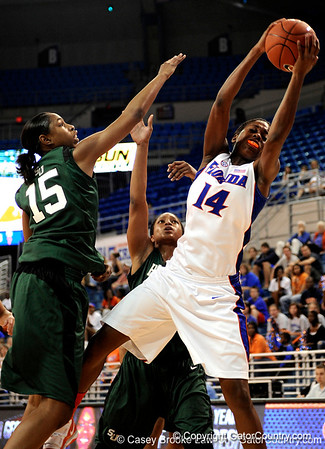 Photo Gallery: UF Women's Basketball vs. Stetson, 11/14/09