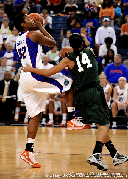 The University of Florida Gators defeated the Stetson Hatters 85-63 in the Stephen C. O'Connell Center in Gainesville, Fla. on Saturday, November 14, 2009. / Gator Country photo by Casey Brooke Lawson