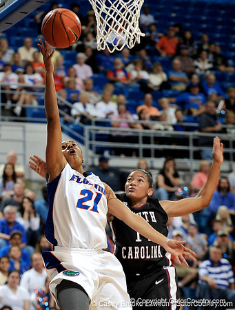 Photo Gallery: UF Women's basketball vs. South Carolina, 1/24/10