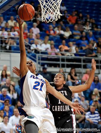 Photo Gallery: UF Women's basketball vs. South Carolina, 1/24/10