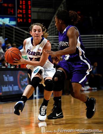 Photo Gallery: UF Women's basketball vs. High Point, 12/21/09