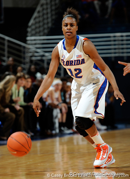 The University of Florida Gators compete against the High Point Panthers in the Steven C. O'Connell Center in Gainesville, Fla. on Monday, December 21, 2009. / Gator Country photo by Casey Brooke Lawson