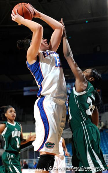 Photo Gallery: UF Women's Basketball vs. Ohio, 12/28/09