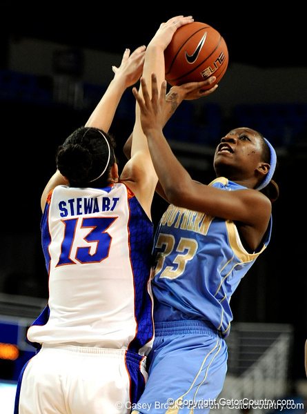 Photo Gallery: UF Women's Basketball vs. Southern, 12/20/09