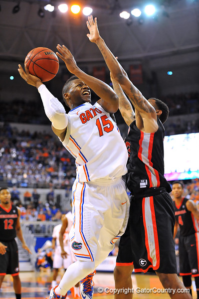 Florida Gators defeat the University of Georgia Bulldogs 72-50 in the Stephen C. O'Connell Center.