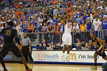 Florida Gators vs Florida State Seminoles.  Gainesville, FL.  November 29, 2013.