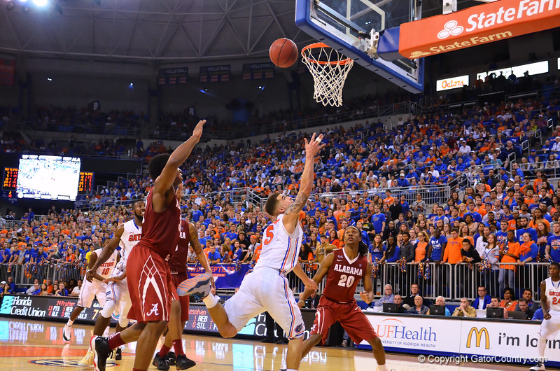 The Gators roll over the Crimson Tide 78-69 at home.