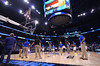 The Gators warm up prior to the start of the game.  Florida Gators vs Pitt Panthers.  March 22nd, 2014.  Gator Country photo by David Bowie.
