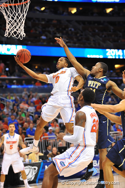 Florida Gators vs Pitt Panthers.  March 22nd, 2014.  Gator Country photo by David Bowie.