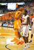 Tennessee forward Jarnell Stokes is swarmed by the Gator defenders.  Florida Gators vs Tennessee Volunteers.  January 25, 2013.  Gator Country photo by David Bowie.