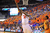 Florida forward Dorian Finney-Smith lays in basket.  Florida Gators vs Tennessee Volunteers.  January 25, 2013.  Gator Country photo by David Bowie.