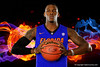 The Florida Gators basketball team poses for photos on Media Day.