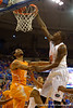 Florida Gators forward Dorian Finney-Smith with a dunk during the first half.  Florida Gators vs Tennessee Vols.  February 28th, 2015. Gator Country photo by David Bowie.
