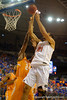 Florida Gators center Jon Horford goes up for a rebound during the first half.  Florida Gators vs Tennessee Vols.  February 28th, 2015. Gator Country photo by David Bowie.