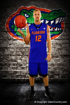 Florida Gators guard Dillon Graham poses during Florida Gators basketball media day.  Florida Gators Basketball Media Day.  October 15th, 2014. Gator Country photo by David Bowie.