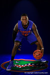 Florida Gators guard Michael Frazier II poses during Florida Gators basketball media day.  Florida Gators Basketball Media Day.  October 15th, 2014. Gator Country photo by David Bowie.