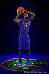 Florida Gators guard DeVon Walker poses during Florida Gators basketball media day.  Florida Gators Basketball Media Day.  October 15th, 2014. Gator Country photo by David Bowie.