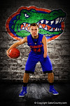 Florida Gators guard Zach Hodskins poses during Florida Gators basketball media day.  Florida Gators Basketball Media Day.  October 15th, 2014. Gator Country photo by David Bowie.
