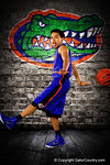 Florida Gators guard Chris Chiozza poses during Florida Gators basketball media day.  Florida Gators Basketball Media Day.  October 15th, 2014. Gator Country photo by David Bowie.