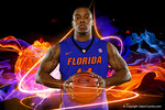 Florida Gators guard Lexx Edwards poses during Florida Gators basketball media day.  Florida Gators Basketball Media Day.  October 15th, 2014. Gator Country photo by David Bowie.