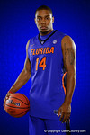 Florida Gators guard guard Lexx Edwards poses during Florida Gators basketball media day.  Florida Gators Basketball Media Day.  October 15th, 2014. Gator Country photo by David Bowie.