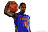 The Florida Gators basketball team poses for portraits during on Florida Gators basketball media day.