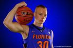 Florida Gators forward Jacob Kurtz poses during Florida Gators basketball media day.  Florida Gators Basketball Media Day.  October 15th, 2014. Gator Country photo by David Bowie.
