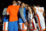 The Gators are introduced during the first half as the Florida Gators defeat the LSU Tigers 68-62 at the Stephen C. O'Connell Center.  January 9th, 2016. Gator Country photo by David Bowie.