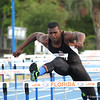 High school athlete Dalton Cook competing in the 69th annual Florida Pepsi Relays in Gainesville, Florida from April 4-6, 2013.
