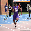 Gainesville High School athlete Kenric Young competing in the 69th annual Florida Pepsi Relays in Gainesville, Florida from April 4-6, 2013.