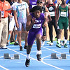 Gainesville High School athlete Chris Thompson competing in the 69th annual Florida Pepsi Relays in Gainesville, Florida from April 4-6, 2013.