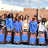 Presentation of the senior athletes during the 69th annual Florida Pepsi Relays in Gainesville, Florida from April 4-6, 2013.