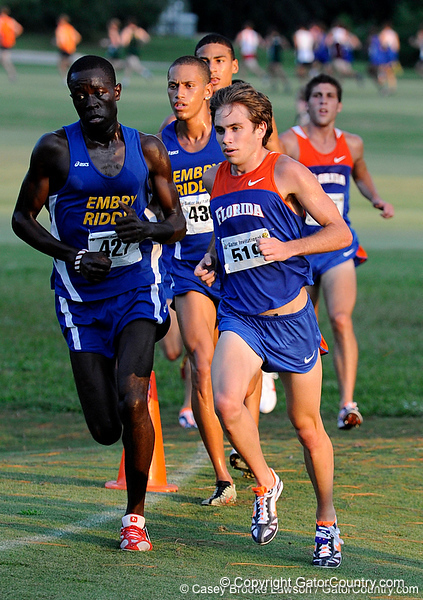 Photo Gallery: UF Cross Country, 9/18/09