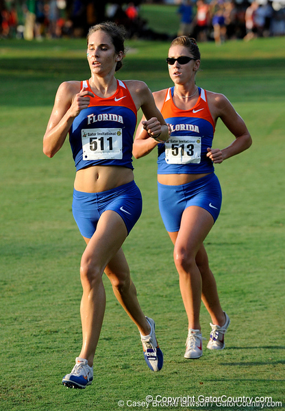 The University of Florida competes in the annual Mountain Dew Invitationa in Gainesville, Fla. on Friday, September 18, 2009. The UF men's and women's cross country teams took first place for the fifth consecutive year./ Gator Country photo by Casey Brooke Lawson