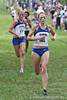 Florida runners Callie Cooper and Grace VanDeGrift compete during the Mountain Dew Invitational on Saturday, September 24th, 2011 at the Mark Bostick Golf Course in Gainesville, Fla. / Gator Country photo by Rob Foldy
