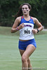 Florida runner Macy Huskey competes during the Mountain Dew Invitational on Saturday, September 24th, 2011 at the Mark Bostick Golf Course in Gainesville, Fla. / Gator Country photo by Rob Foldy