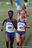 Florida runners Florence N'Getich, Genevive LaCaze, and Cory McGee compete at the Mountain Dew Invitational on Saturday, September 24th, 2011 at the Mark Bostick Golf Course in Gainesville, Fla. / Gator Country photo by Rob Foldy