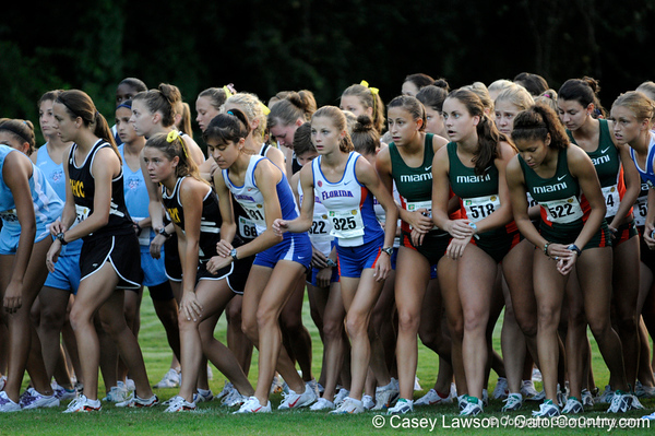 photo by Casey Brooke Lawson<br /> <br /> University of Florida Cross Country Men (8K) and Women (5K) win the Mountain Dew Invitational for fourth straight year on Saturday, September 20, 2008 at the University Golf Course in Gainesville, Fla.<br /> <br /> 080920_KruzelJacy_6191_CBLawson