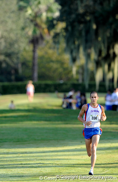 photo by Casey Brooke Lawson<br /> <br /> University of Florida Cross Country Men (8K) and Women (5K) win the Mountain Dew Invitational for fourth straight year on Saturday, September 20, 2008 at the University Golf Course in Gainesville, Fla.<br /> <br /> 080920_CriscioneJeremy_2156_CBLawson