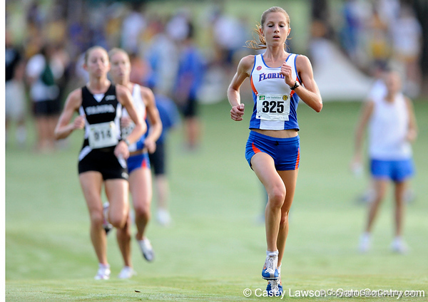 photo by Casey Brooke Lawson<br /> <br /> University of Florida Cross Country Men (8K) and Women (5K) win the Mountain Dew Invitational for fourth straight year on Saturday, September 20, 2008 at the University Golf Course in Gainesville, Fla.<br /> <br /> 080920_KruzelJacy_1914_CBLawson