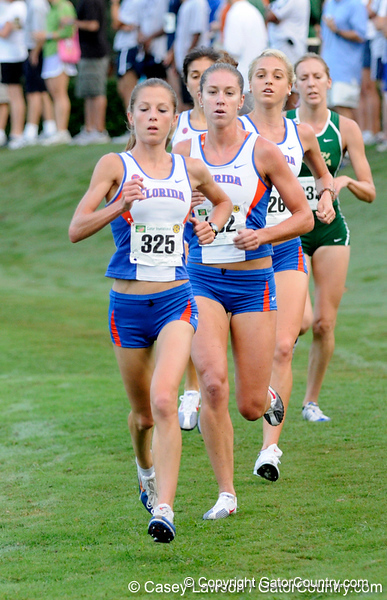 photo by Casey Brooke Lawson<br /> <br /> University of Florida Cross Country Men (8K) and Women (5K) win the Mountain Dew Invitational for fourth straight year on Saturday, September 20, 2008 at the University Golf Course in Gainesville, Fla.<br /> <br /> 080920_KruzelJacy_6202_CBLawson