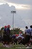 Photo by Tim Casey <br /> <br /> ...during the University of Florida football team'sthird day of summer practice on Tuesday, August 7, 2006 in Gainesville, Fla.