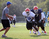 Photo by Tim Casey <br /> <br /> ...during the University of Florida football team's fourth day of summer practice on Wednesday, August 9, 2006 in Gainesville, Fla.<br /> <br /> © Copyright 2006 Timothy M. Casey, All Rights Reserved.
