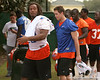 photo by Tim Casey<br /> <br /> Tony Joiner  leaves the field after the Gators practiced on Sunday, December 30, 2007 at Disney's Wide World of Sports Complex in Lake Buena Vista, Fla.